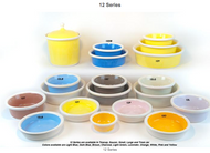Petware Pottery Dog Bowls 12 Series