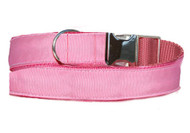 pink urban leash details