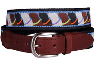 Labrador Retriever Ribbon Tab Belt
