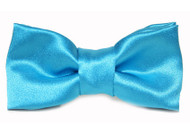 Turquoise Bow Tie For Dogs