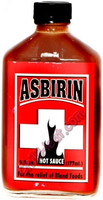 Asbirin Regular Strength Hot Sauce