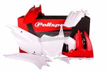 Honda CRF 110 F Plastic Kit 2013 - 2017 OEM Red White 90537