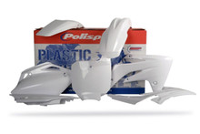 Honda CRF150 R Plastic Kit 2007 - 2017 All White 90159