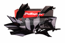Honda Plastic kit CRF 250 R 2014 - 2017 / CRF 450 R 2013 - 2016 BLACK 90562