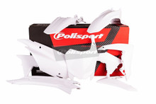 Honda CRF 110 F Plastic Kit 2013 - 2017 All White 90538