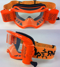 RIP N ROLL COLOSSUS XL GOGGLES NEON ORANGE