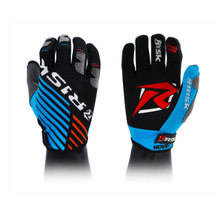 Risk Racing Ventilate Gloves - BLUE/ORANGE