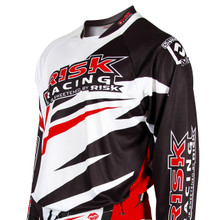 Risk Racing Vector Jersey - RED/WHITE