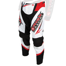 Risk Racing Vector Pants - RED/WHITE