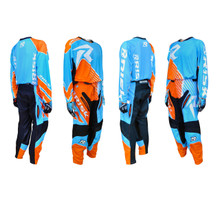 Risk Racing Ventilate Pant - BLUE/ORANGE