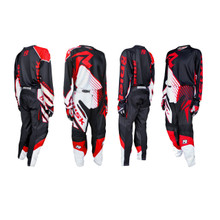 Risk Racing Ventilate Pant - BLACK/RED