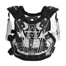 Polisport XP1 Mini - Kids Chest Protector - Transparent Black Tint