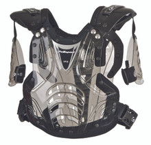 Polisport XP2 Junior - Small Chest Protector - Transparent