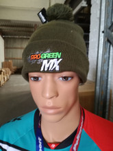 Pro Green Bauble Beanie Hat