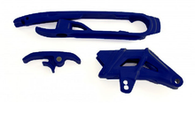 Chain Slider and Guide kit - KTM / Husqvarna 2011-16 - Blue