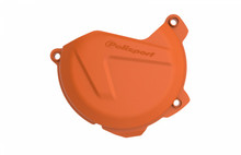 Polisport Clutch Cover/Protector - KTM/Husqvarna 250 and 350 4 Strokes 2012-16 - Orange