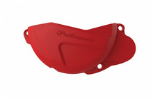 Polisport Clutch Cover/Protector - Honda CRF450 2010-16 - Red