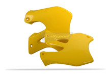 SUZUKI Radiator Scoops RM125/250 1996-98 - YELLOW