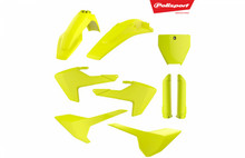 Husqvarna Polisport Plastic Kit with fork Guards TC / FC 2016 - 2018 (TC250 2017-2018) Neon / Fluo yellow 90741