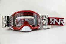 RNR Platinum WVS Goggle Red