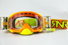 RNR Platinum WVS Goggle Neon Orange
