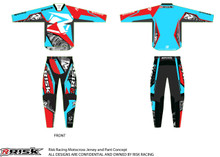 Risk Racing Ventilate Jersey and Pants - Machine