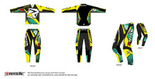 Risk Racing Ventilate Jersey and Pants - Digital
