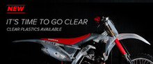 Honda Plastic Kit CRF 250 R 2018 / CRF 450 R 2017 - 2018 Clear / translucent 90771