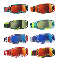 2019 Scott Prospect Chrome Works Lens Tear Off Goggles With 30 Tear Offs FREE - CLICK FOR MORE COLOURS