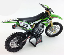 CHAD REED #22 KAWASAKI KXF450 1:12 Scale Toy model