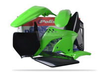 Kawasaki KXF Plastic Kit for KXF 250 06 - 08 OEM 2008 Green