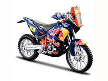 DAKAR RALLY REDBULL KTM SXF450 1:18 Die-Cast Toy Model
