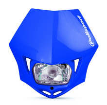 Polisport MMX Road Legal Headlight Enduro KTM CRF XR WRF YZF DRZ - BLUE