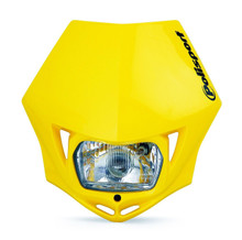 Polisport MMX Road Legal Headlight Enduro KTM CRF XR WRF YZF DRZ - YELLOW