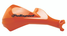 POLISPORT SHARP HANDGUARDS HAND GUARDS MOTOCROSS ENDURO - ORANGE KTM
