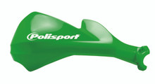 POLISPORT SHARP HANDGUARDS HAND GUARDS MOTOCROSS ENDURO - Green Kawasaki KXF KX