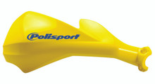 POLISPORT SHARP HANDGUARDS HAND GUARDS MOTOCROSS ENDURO - YELLOW SUZUKI RMZ