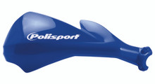 POLISPORT SHARP HANDGUARDS HAND GUARDS MOTOCROSS ENDURO - BLUE YAM YZF