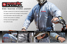 RISK RACING Hydro Jacket - Rain Coat