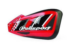 Polisport Defender Graphic Universal Hand Guards - Honda Red