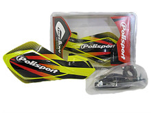 Polisport Free Flow Lite Graphic Universal Hand Guards - Suzuki Yellow