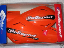 Polisport Free Flow Lite Universal Hand Guards - KTM Orange