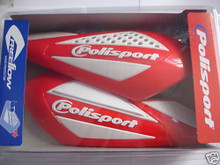 Polisport Free Flow Universal Hand Guards - Honda Red