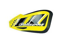 Polisport Defender Graphic Universal Hand Guards - Suzuki Yellow