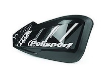 Polisport Defender Graphic Universal Hand Guards - Black