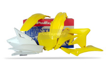 SUZUKI RMZ Plastic Kit for RMZ 250 07 - 09 OEM 2009 Colour Yellow