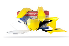 SUZUKI Plastic Kit for RMZ 450 08 - 17 OEM11/12 Colour Yellow