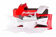 Honda Plastic Kit CRF 250 R 2014 - 2017/ CRF 450 R 2013 - 2016 OEM Red White 90536