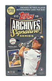 2018 Topps Archives Signature Series Retired Edition Baseball Hobby Box