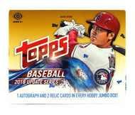 2018 Topps Update Series Baseball Jumbo Box